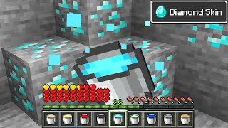 Minecraft But You can Milk Ores...