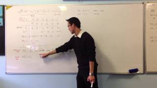 Remainder & Factor Theorem