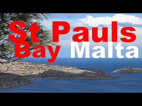 Saint Pauls Bay Malta, (San Pawl il Bahar)