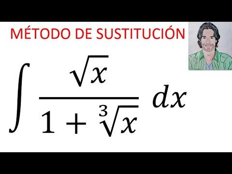 Integral Sqrt(x)/(1+cbrt(x)) Dx Solución De La INTEGRAL INDEFINIDA Por El Método De SUSTITUCIÓN