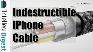 Indestructible Lightning iPhone Cable With Bulletproof Material! | Intellect Digest