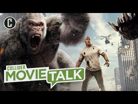 Rampage Squeaks Past A Quiet Place for Top Spot at the Box Office - Movie Talk