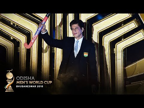 Shah Rukh Khan at the Official Opening Ceremony of Odisha Men's Hockey World Cup Bhubaneswar 2018!