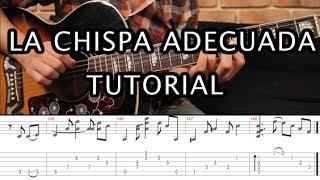 """Como tocar """"La Chispa Adecuada"""" de Héroes del Silencio - Tutorial Guitarra (Acordes + TAB ) HD"""