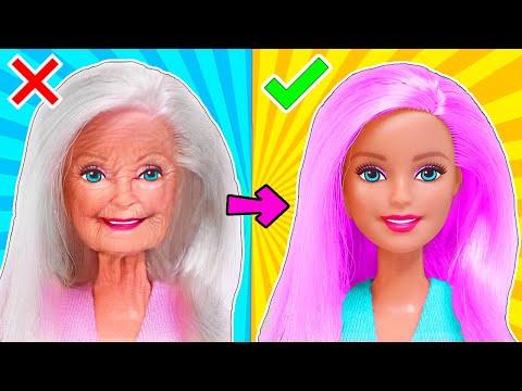 13 ЛАЙФХАКОВ для старых игрушек и поделок с Куклами ЛОЛ Сюрприз и Барби! Мультик LOL Surprise HACKS
