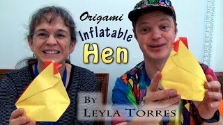 Inflatable Hen by Leyla Torres