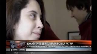 Jóvenes por la patria: la fundación 180 organiza un congreso para construir un país mejor