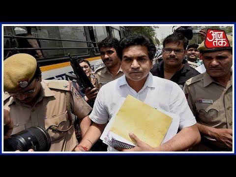 Kapil Mishra Submits Proof Against Arvind Kejriwal To CBI