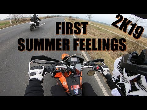 First Summer Feelings | Kreidler Dice Sm125 pro | GoPro Hero7
