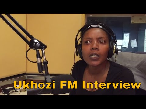 Thenjiwe Comedy On Ukhozi 📻|  Bheka Mchunu | Radio Interview