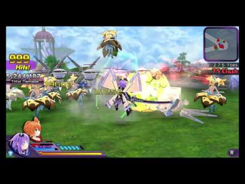 Hyperdimension Neptunia U: Action Unleashed - Quick Random Gameplay |