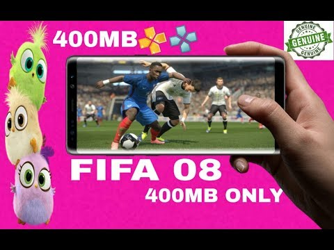 Fifa 2008 400mb Highly Compressed Psp Android 2019 Offline Game New To