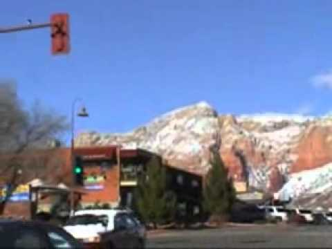 Sedona AZ: Snow on the Red Rocks