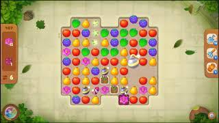 Gardenscapes Level 487 No Booster 🌲  l MiniGames
