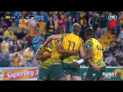 The Rugby Championship 2017: Wallabies vs All Blacks