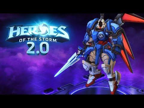Heroes of the Storm (Gameplay) - AA Tyrael | Magyarul