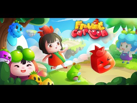 Fruit Cartoon: combo-missions Find legend fruits under ices and plant grass to all cells