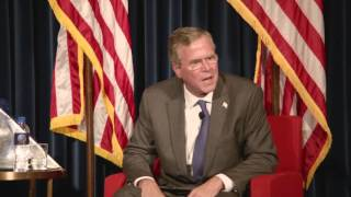 Jeb Beats Hillary Clinton on Foreign Policy | Jeb Bush
