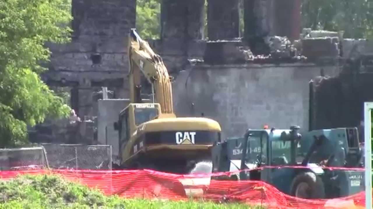 St  Mary's Academy Demolition Update  7-31-15