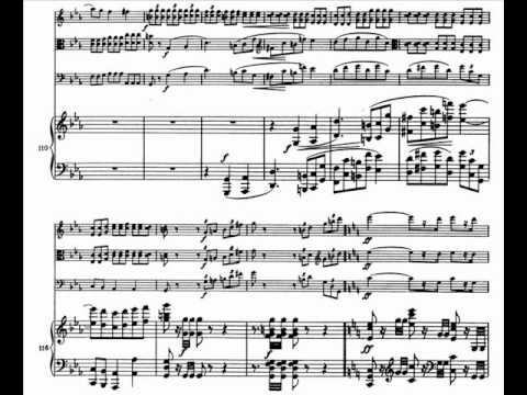 Brahms . Cuarteto Opus 25 - 3. Andante con moto