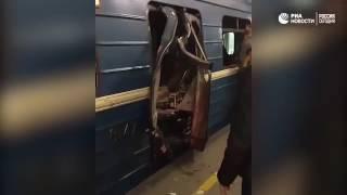 Смотреть видео Санкт-петербург взрыв в метро онлайн