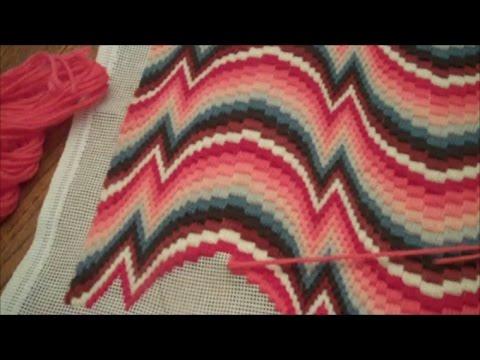 Stitch Your Florentinebargello Needlepoint Flat By Lorna Pollock