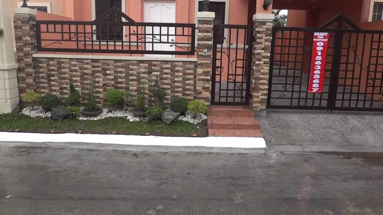 100 modern house gate and fence designs philippines for Modern house gate designs philippines