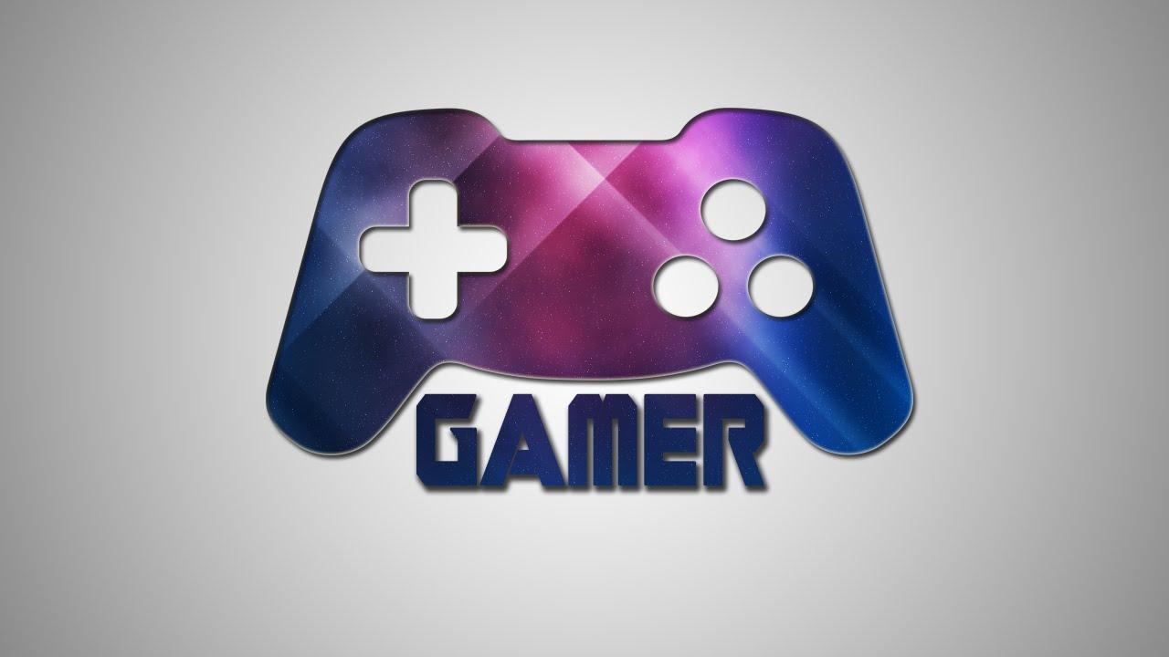 simple logo design photoshop tutorial gamer youtube