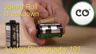 35mm Roll Breakdown    Analog Photography 101