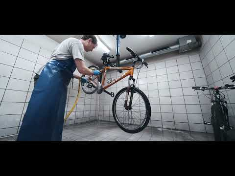 How we clean your bike!
