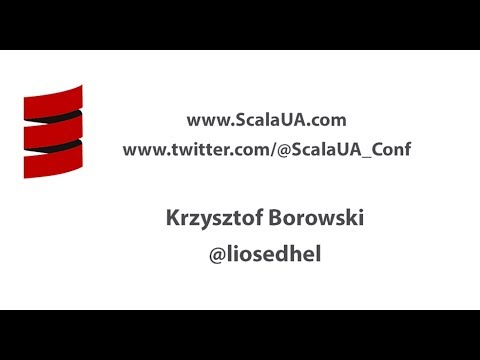 Slick 3 x with a little bit of magic. Krzysztof Borowski. ScalaUA2017