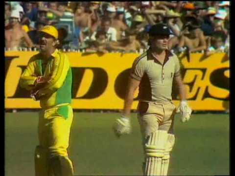 Most disgraceful moment in the history of cricket
