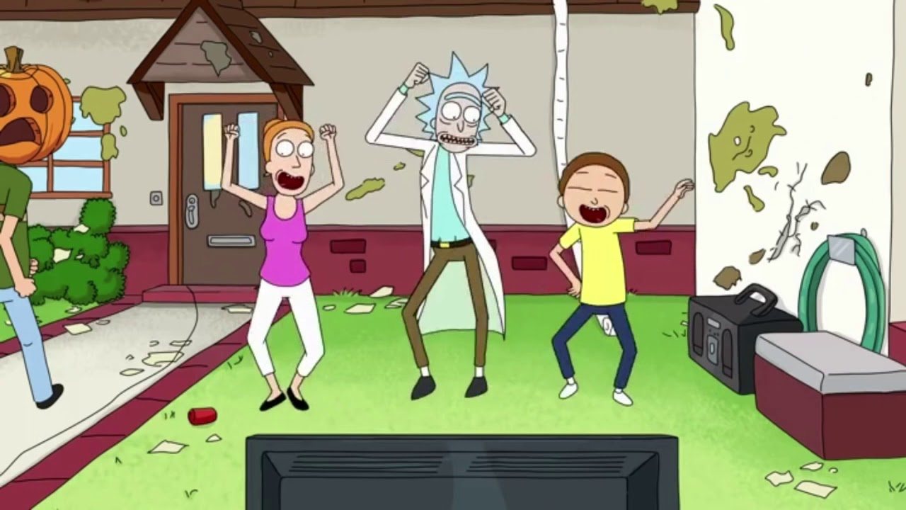 Just shake that azz rick and morty