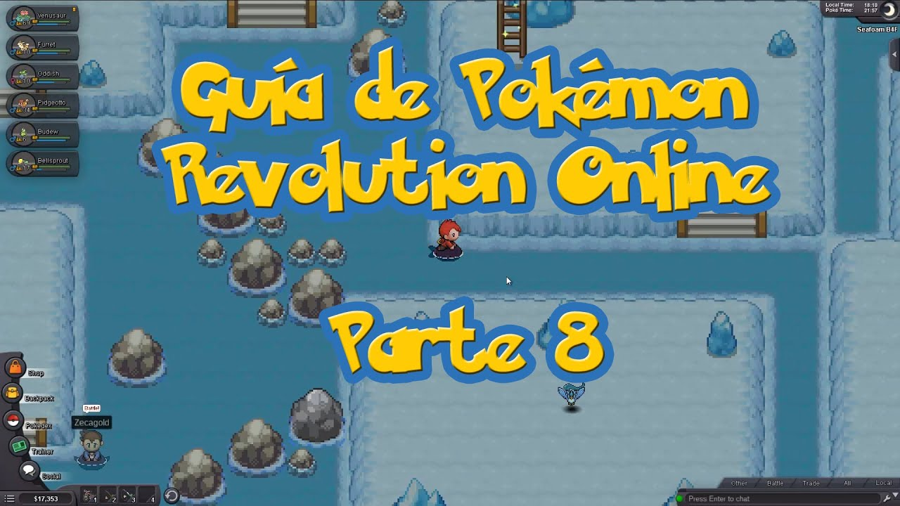 Seafoam Island Pokemon Revolution Online Map