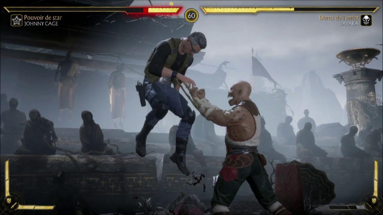 Mortal KOMBAT 11 gameplay Nintendo SWITCH