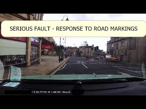 Examples of Serious Faults on Actual Driving Tests in Halifax - CORRECTION