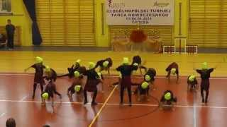 Lilla Kidz. Choceń 2014. Choreografia Martyna Babka Kozłowska.
