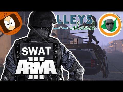 LIFE ISLAND   POLICE : LE SWAT PATROUILLE SUR KELLEY'S ISLAND !   ARMA 3