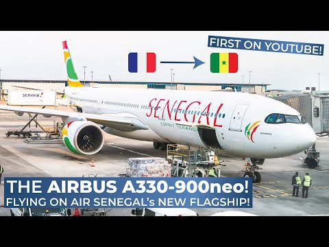 TRIPREPORT (FIRST ON YOUTUBE!) | Air Senegal (ECONOMY) | Airbus A330-900neo | Paris CDG - Dakar