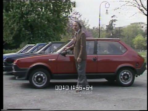 Giancarlo Baghetti prova per voi la FIAT Ritmo 105 TC (Pozzetto) \ 1981 \ ita