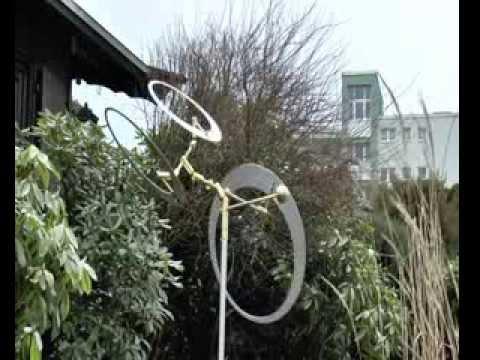 windspiele aus metall edelstahl, windspiele kinetische kunst - youtube, Design ideen