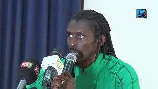 """Aliou Cissé : """"La concurrence est partout, du temps de jeu sera donné aux nouveaux"""""""
