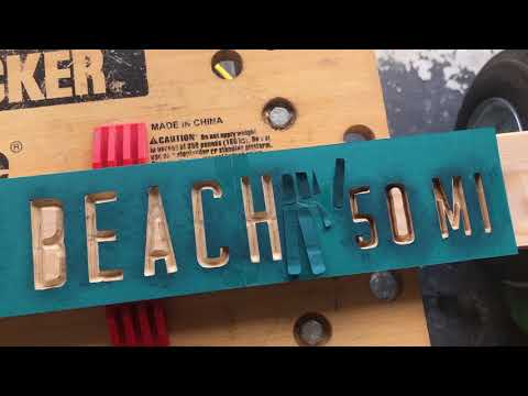 Making a Wood sign with Cricut