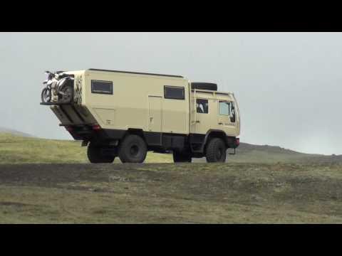 Iceland 冰岛 Исландия Offroad Glacier Volcano 火山 Waterfall 雷克雅未克 MAN Camper Tour MAGA