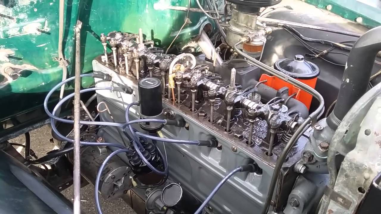 All Chevy chevy 216 engine : New, rebuilt Chevy 216 - YouTube