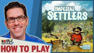 Imperial Settlers - How To Play