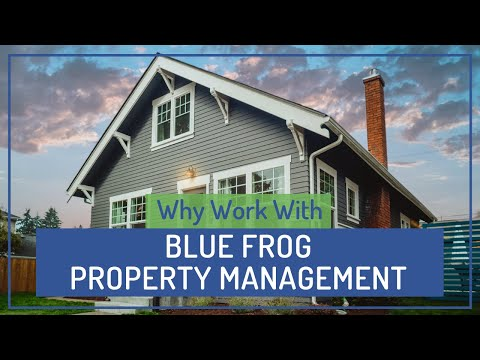 Why Work with Blue Frog for Green Bay Property Management