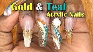 Acrylic Nails Tutorial - How To Encapsulated Nails - Nail Art - Newport Nails