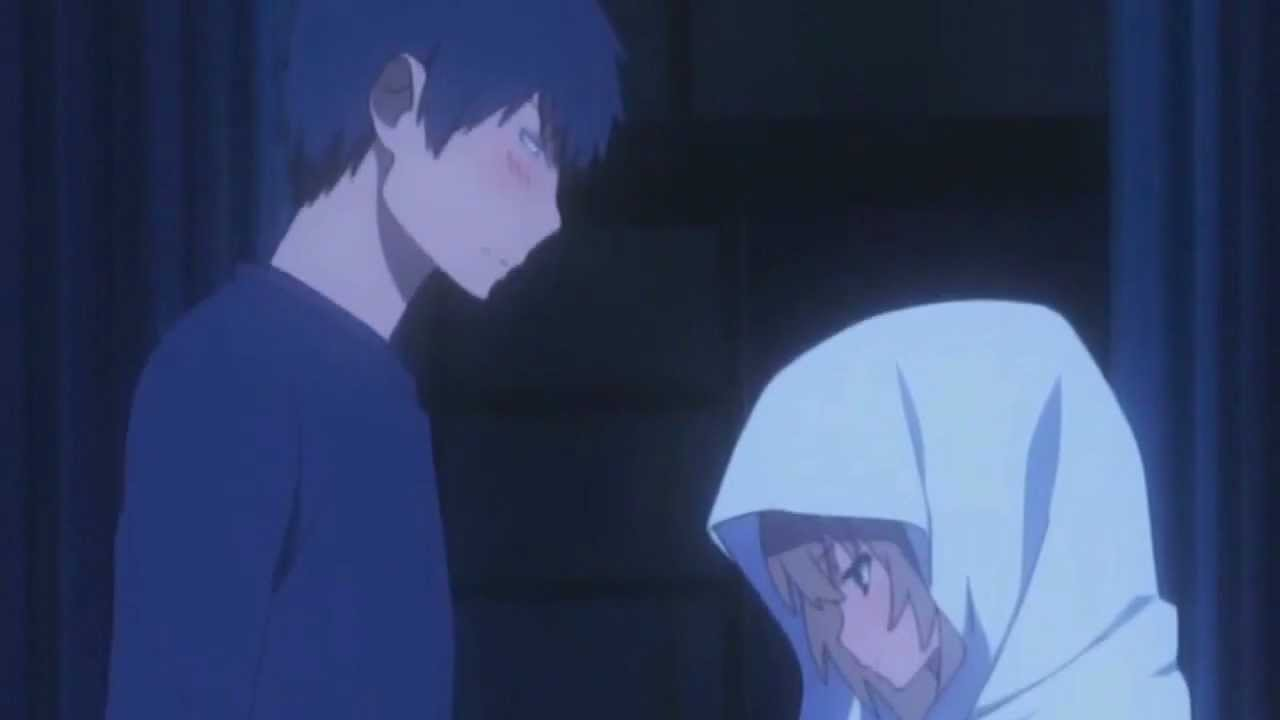 toradora quotkiss scenequot pt fandub with silver demyx