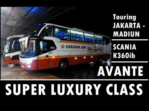 SUPER LUXURY CLASS | Jakarta - Madiun by Harapan Jaya